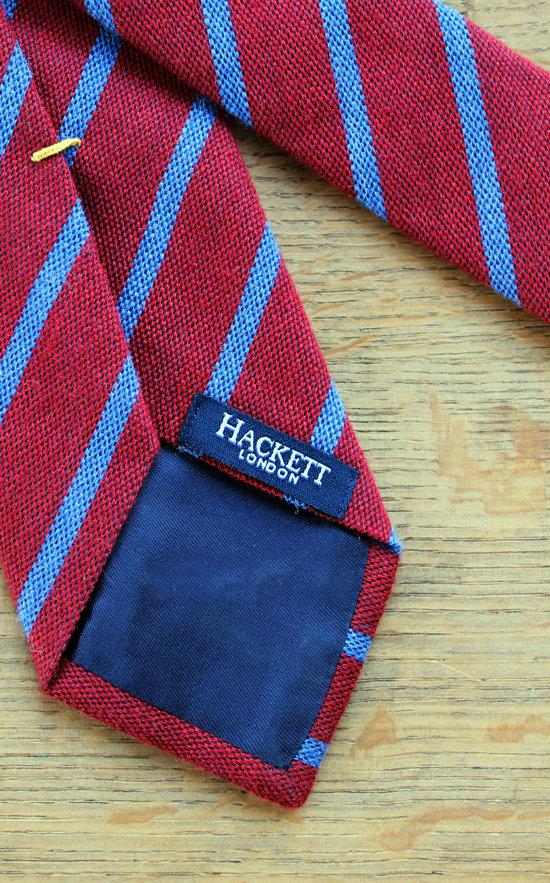 chaussures pour pas cher prix bas couleurs harmonieuses Cravate Hackett verso - La compagnie du costume